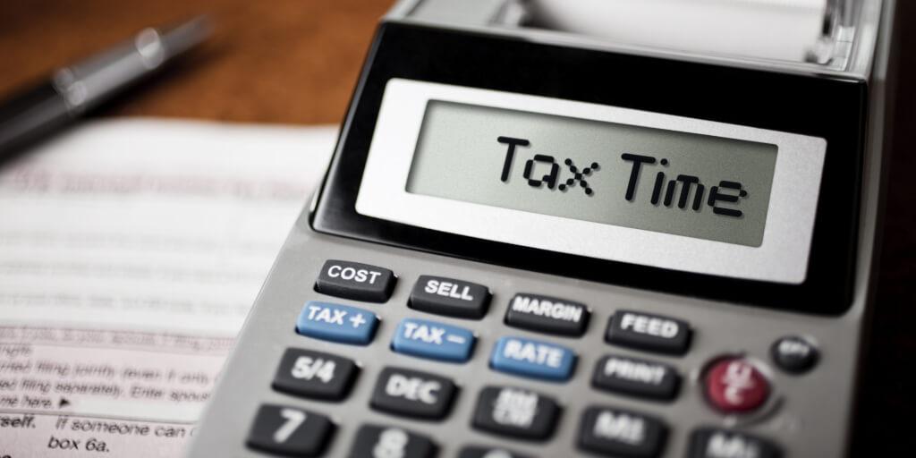 Налоги на калькуляторе